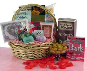 Lovely Lady Gift Basket image