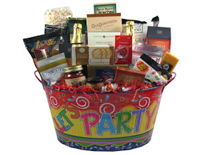 Lets Party Gift Tub imagerjs