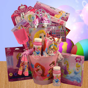 Easter Princess Fun Basket for Girls imagerjs