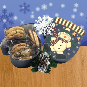 Holiday Snowman Cookie Gift Box imagerjs