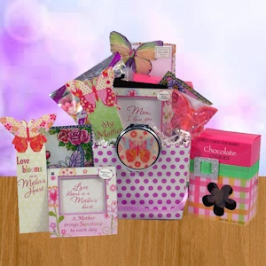Just for Mom Mother's Day Keepsake & Snack Gift imagerjs