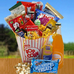 Movie Time Snack Basket