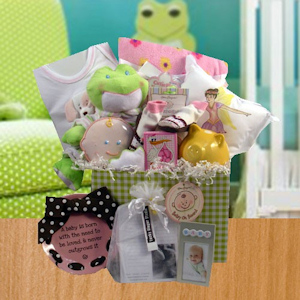 Sweet Baby Basket (Boy or Girl) imagerjs