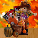 Scarecrow Sweets Basket