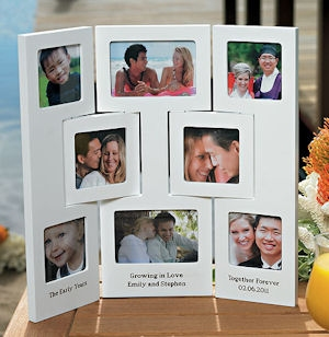 Personalized 3 Panel Photo Frame imagerjs