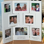 Personalized 3 Panel Photo Frame