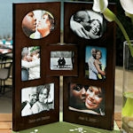 Personalized 2 Panel Photo Frame