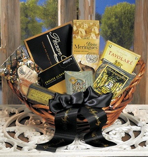 With Sympathy Gift Basket imagerjs