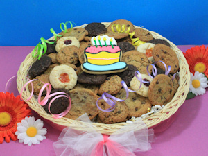 Happy Birthday Cookie Lover's Basket imagerjs
