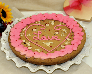 Love Heart Cookie Cake imagerjs