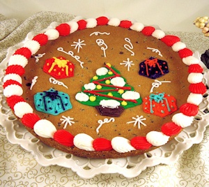 Christmas Tree Giant Cookie Cake imagerjs