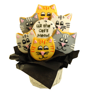 The Cat's Meow Sugar Cookie Bouquet imagerjs