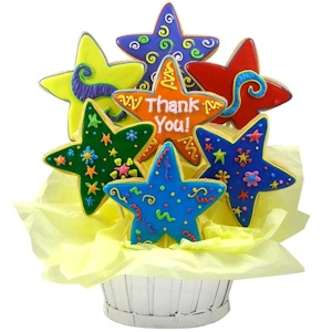 Shining Stars Thank You Sugar Cookie Bouquet imagerjs