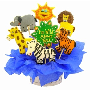 Wild About You Sugar Cookie Basket imagerjs