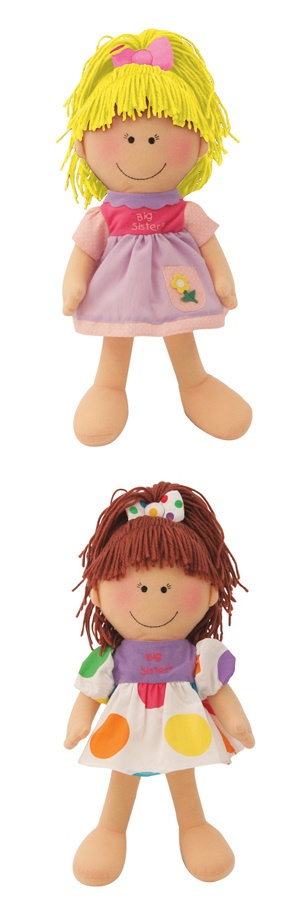 Personalized Big Sister Doll imagerjs