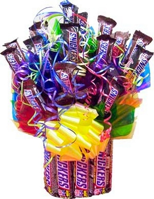 Choose Your Favorite Candy Edible Base Bouquet image