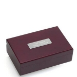 Cherry Finish Keepsake Box
