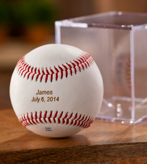 Personalized Rawlings Baseball with Case imagerjs