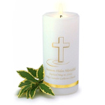 Personalized Baptismal Candle