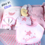 Personalized Moon & Stars Layette