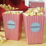 Small Classic Popcorn Boxes (Set of 12)