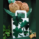 Shamrock St. Patrick's Day Cookie Gift Tote