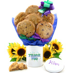 Thank You Cookie Tin Bouquet