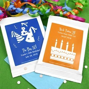Personalized Birthday Silhouette Cosmopolitan Mix Favors image