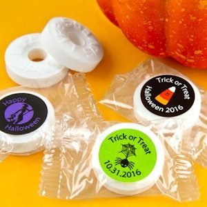 Halloween Personalized Life Savers Mints image