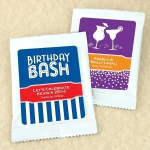 Personalized Birthday Cocktail Mix (50 Designs) image