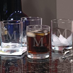 Personalized Old Fashioned Glasses (Set of 4) image