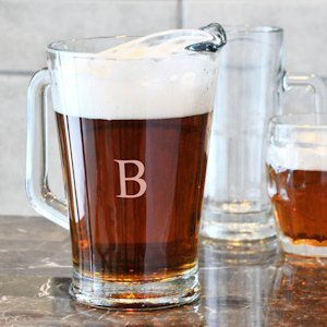 All Purpose Personalized Glass Pitcher image