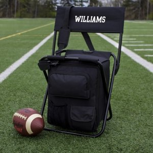 Personalized All-in-One Tailgate Cooler Chair image