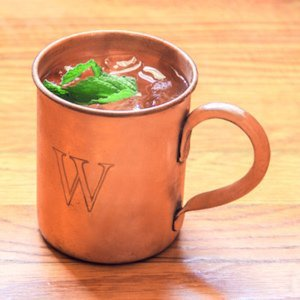 Personalized Moscow Mule Copper Mug image