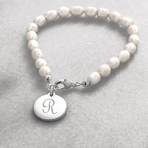 Personalized Simplicity Pearl Bracelet image