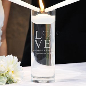 Love Collection Floating Unity Candles (2 Designs) image