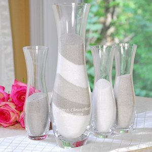 4pc. Personalized Unity Sand Ceremony Set image