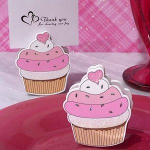 Sweet Treat Cupcake Place Card Holder image