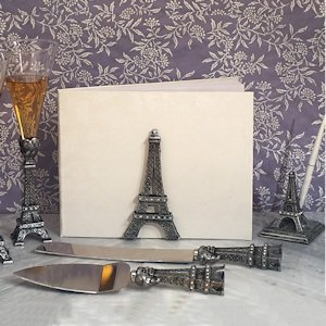 Stunning Eiffel Tower Wedding Collection image