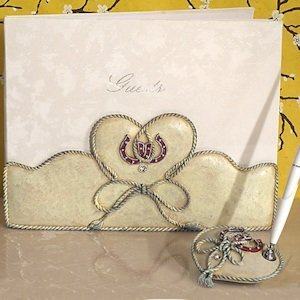 Lucky in Love Western Wedding Accessory Set image