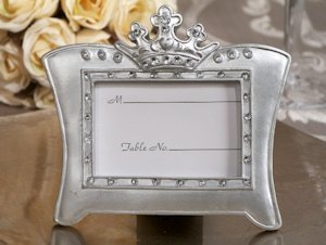 Queen for a Day Sparkling Tiara Place Card Frames image