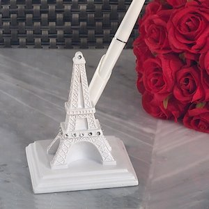 Elegant Paris Wedding Collection Pen Set image