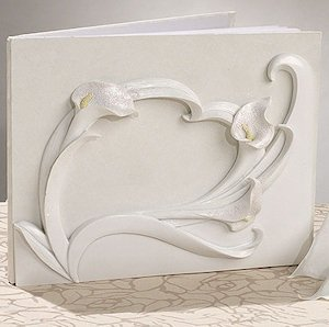 Calla Lily Wedding Guest Book image