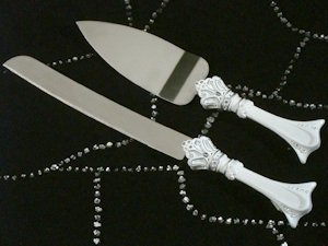Royalty for a Day Cake and Knife Server image