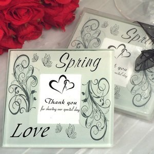 Spring Love Photo Coasters image