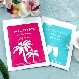 Personalized Silhouettes Cosmopolitan Mix Favors image