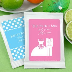 Personalized Silhouettes Margarita Mix Favors image