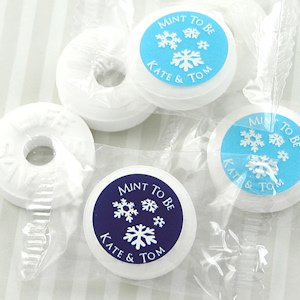 Winter Silhouette Life Savers Mint Favors image