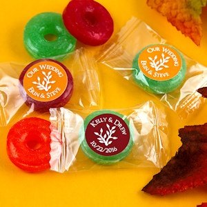 Autumn Silhouette Fruit Flavors Life Savers Candies image