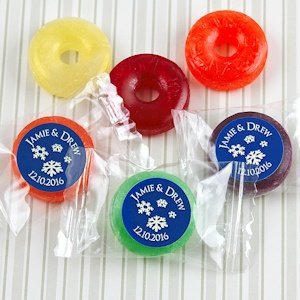 Winter Silhouette Fruit Flavors Life Savers Candies image